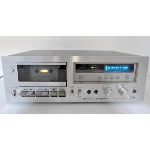 Tape Cassette Pioneer CT-F650 registratore a cassette  metal tape capable stereo cassette deck hifi vintage