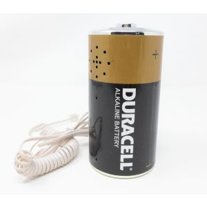 Telefono Duracell a forma di batteria vintage da modernariato telephone duracell from modernism