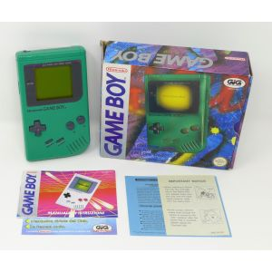 Retroconsole Nintendo Game Boy Verde retrogames console portable Handheld Game & Watch